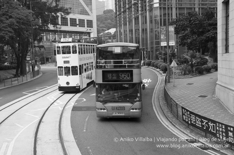 El famoso tranvía de HK