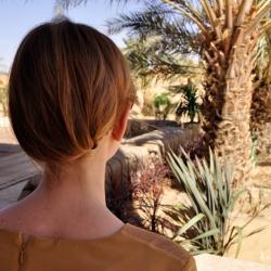 Rodaje en el Sahara