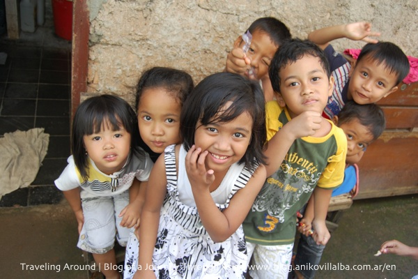 The children from the neighborhood where I lived in Jakarta