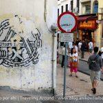 Viajando en una foto: Una pared en algún lugar