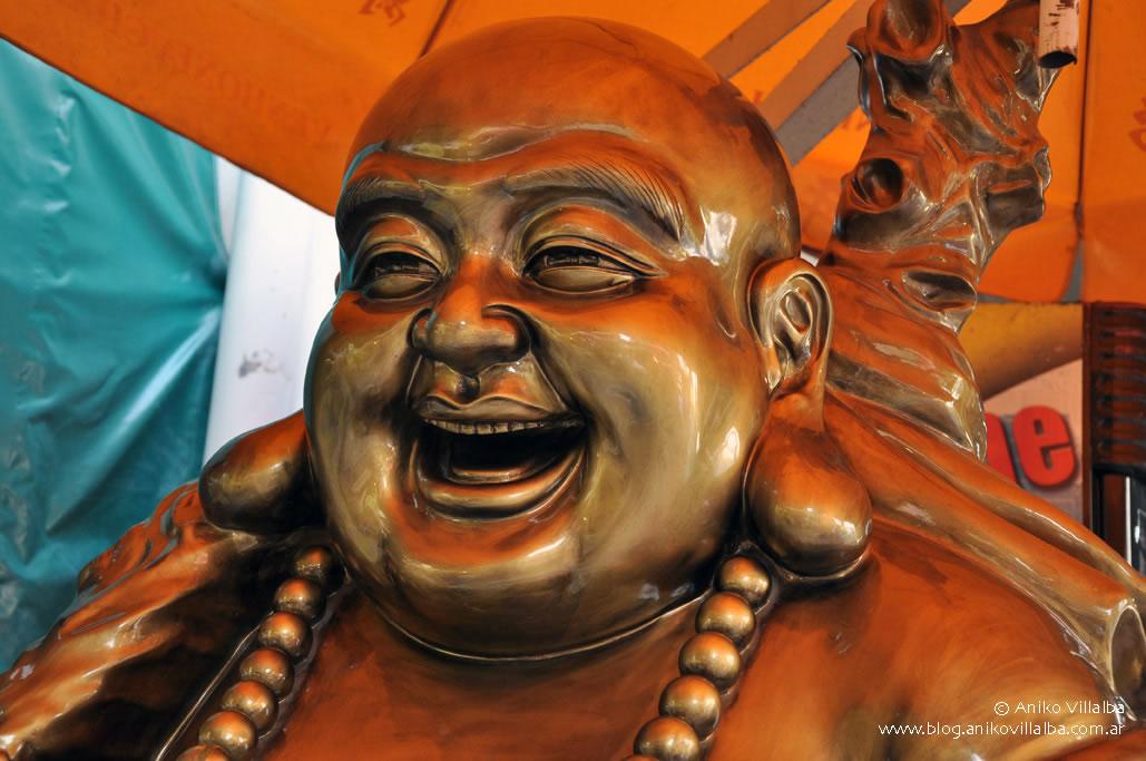 Buda sonriente