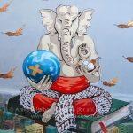 Pausa (y un poco de arte callejero asiático)