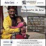 Novedades: «Asia en mi mochila» y expo de fotos