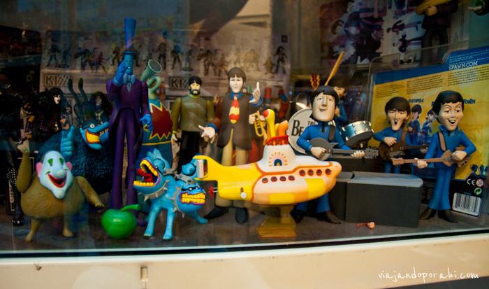 Esta foto la saqué en el museo del juguete de Malasia