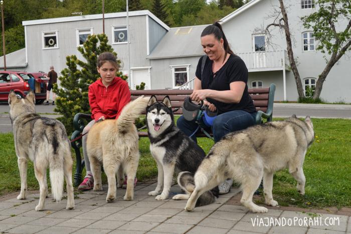 Fue imposible poner a todos los perros a posar para la foto