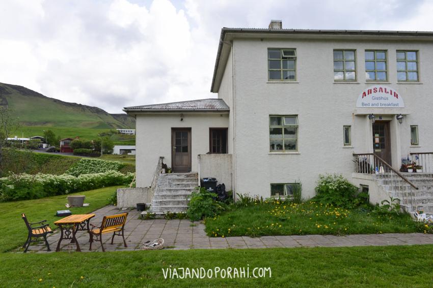 Y el guesthouse en Vik