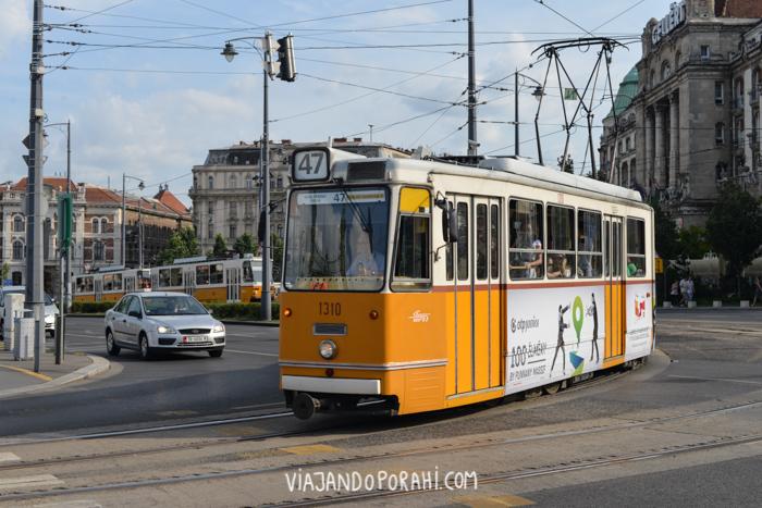 El tranvía en Budapest