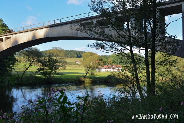 El puente en cuestión