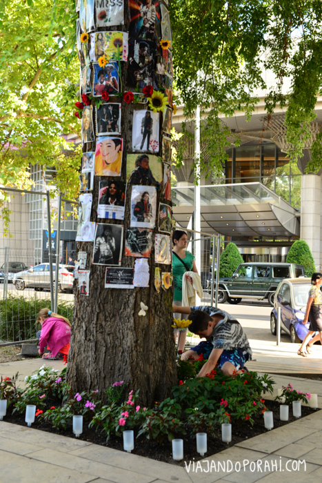 Memorial a Michael Jackson