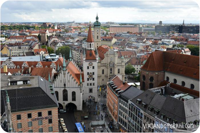 Y me acuerdo de todos los lugares que visité en este viaje. Como Munich.