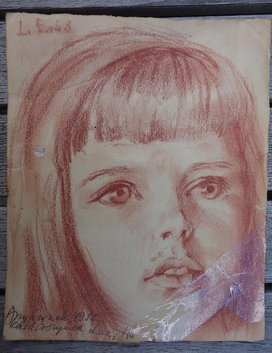 Un retrato dibujado por mi abuelo