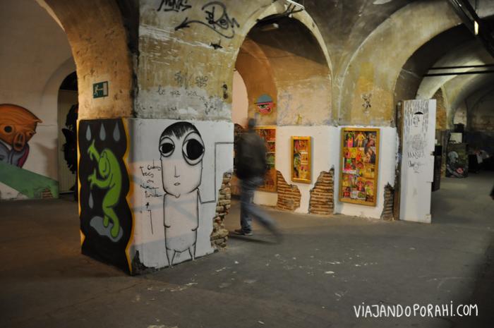 La Tabacalera, espacio artístico recuperado y autogestionado en Madrid