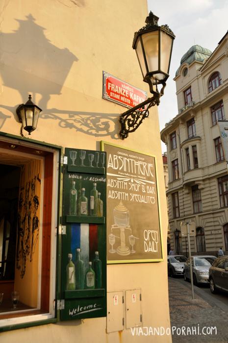 Y una esquina de Praga.