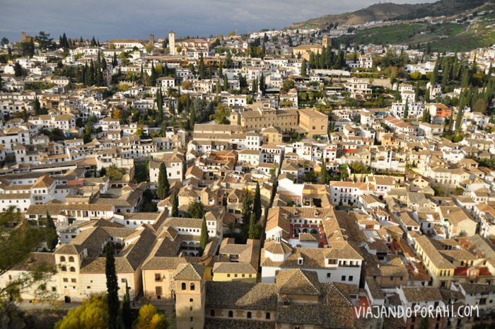 Granada (España) al atardecer