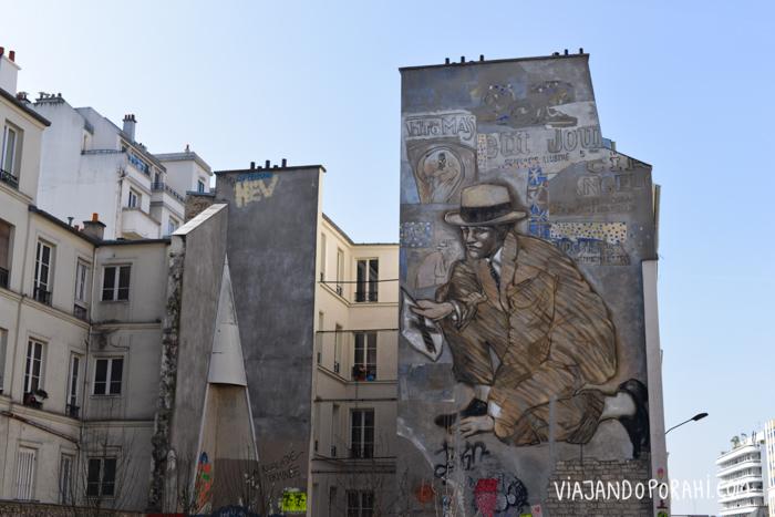 París y su arte en las paredes.