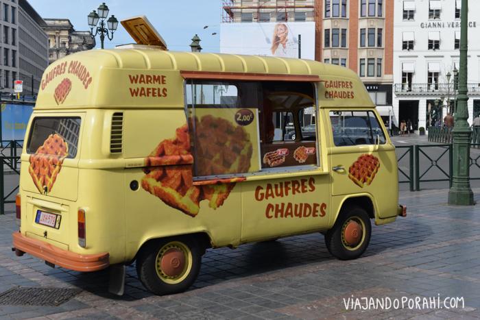 Y en Bélgica, los waffles.