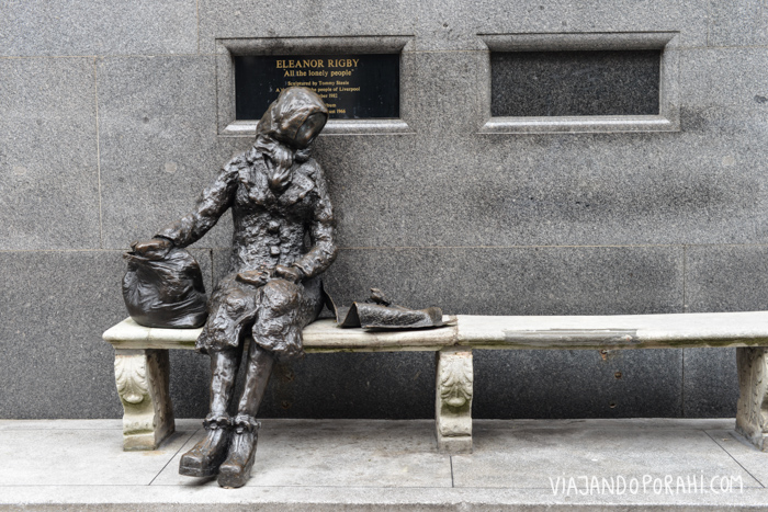 Y la estatua de Eleanor Rigby