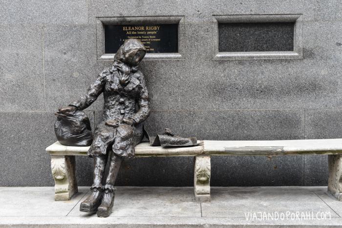 Y la estatua de Eleanor Rigby