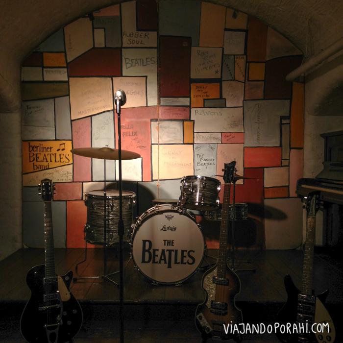Réplica de The Cavern en el museo Beatle's Story de Liverpool