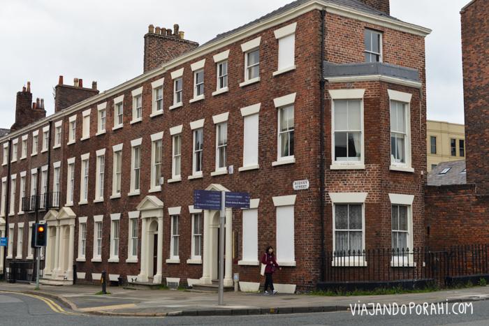 Una calle de Liverpool