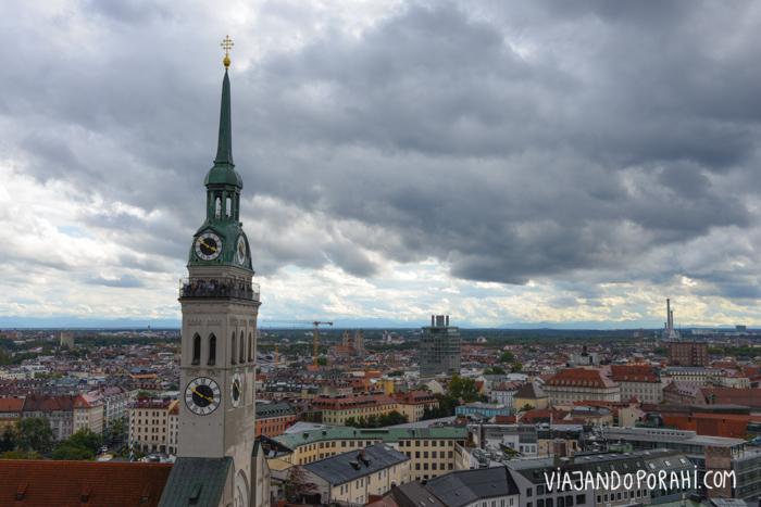 Por las calles, y miradores, de Munich