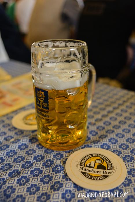 Yo pensaba que solo me esperaba esto (que no está mal si uno va con ganas de tomar buena cerveza)...