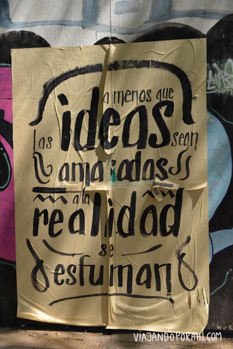 No tengas miedo de hacer realidad tus ideas.