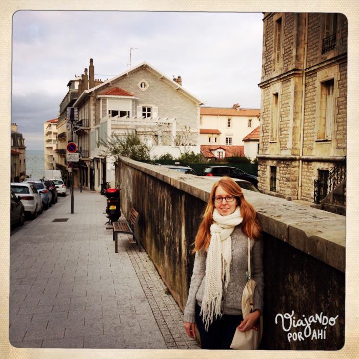 Mi vida en Biarritz.