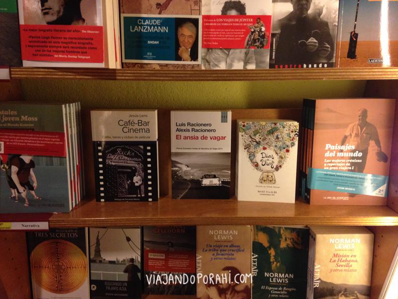 Y mi libro a la venta en Altair, una librería de viajes :)