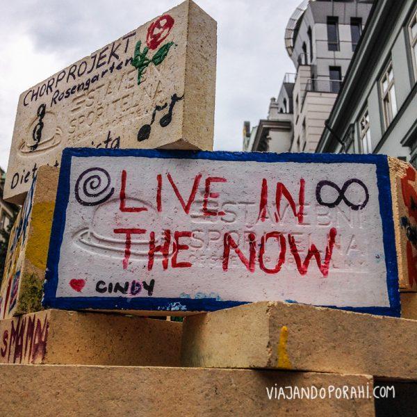 Mensaje visto en Praga.