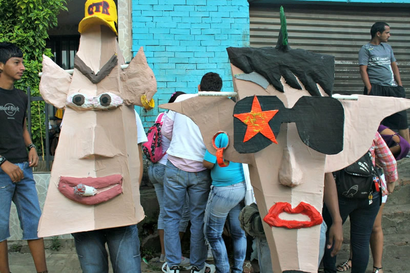 Máscaras listas