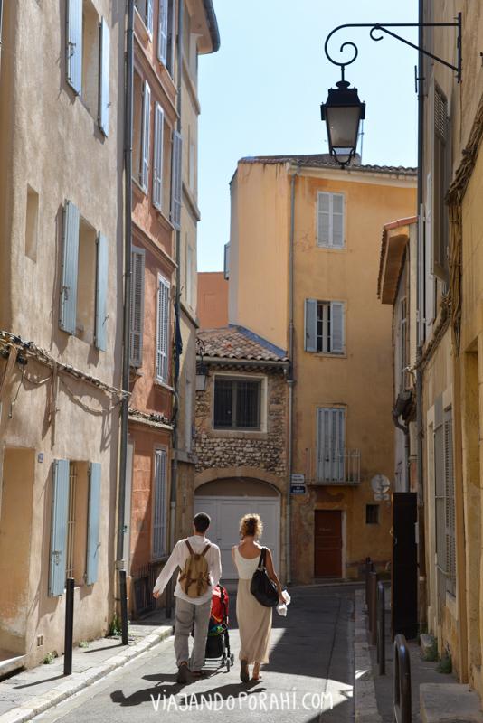 Otro momento alegre fue el viaje que hice con mi prima Flavia y sus amigas por la Provenza francesa.