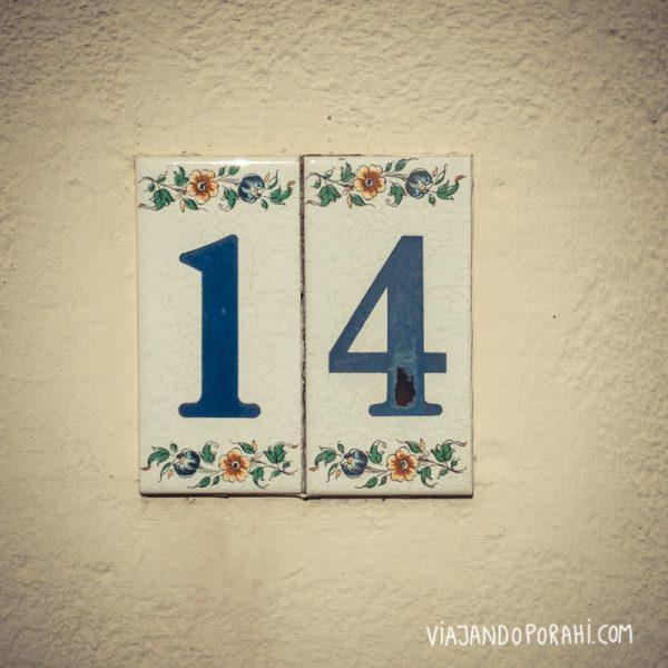 Punto de partida: el número 14.