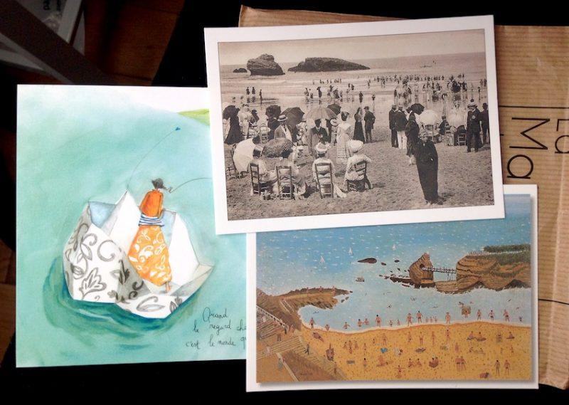 postales-biarritz