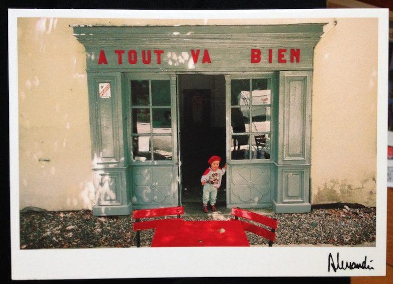 Postal de la Provence por JF Alessandri