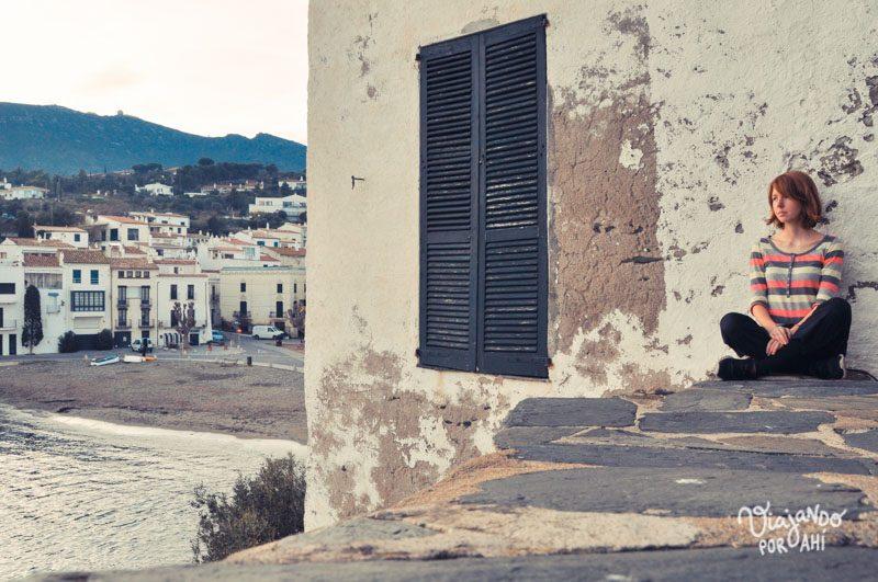 Autofoto en Cadaqués, España
