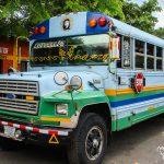 Recuerdos de Centroamérica (3): <br> viaje en bus por Nicaragua
