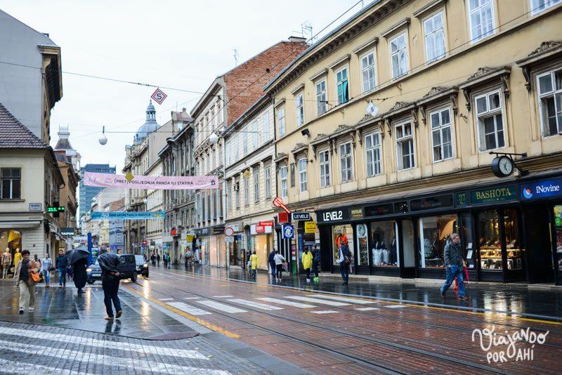 Una de las primeras fotos que saqué en Zagreb