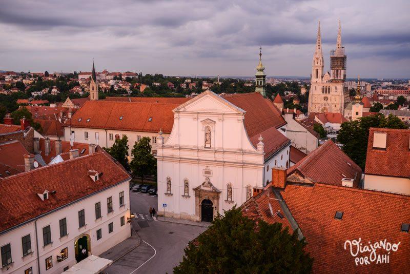 Primeras vistas de Zagreb