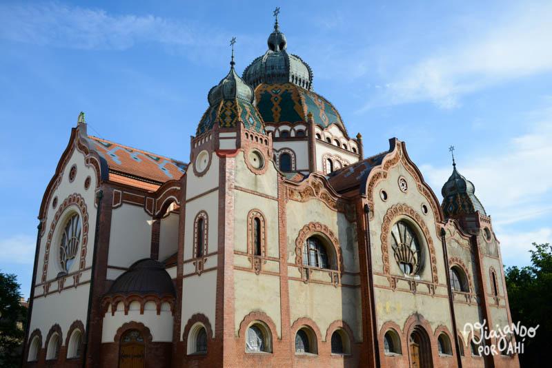 La Sinagoga por fuera
