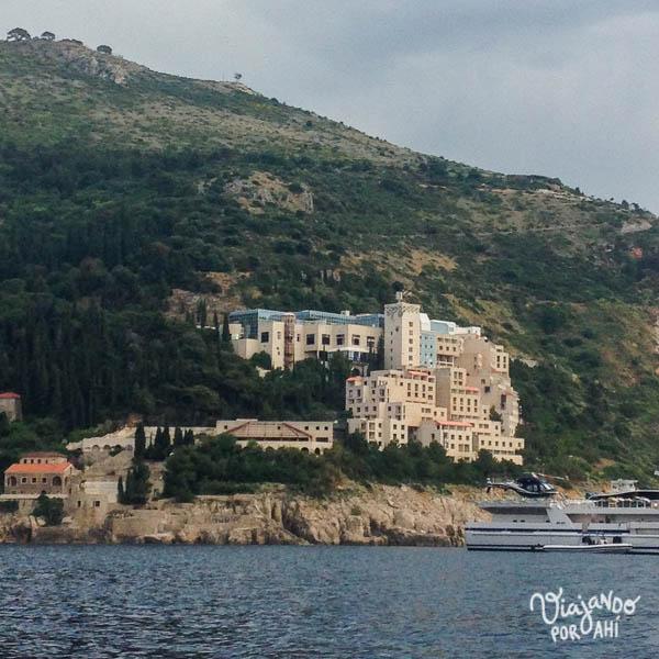 Fotito bis: el Belvedere, en Dubrovnik, es un hotel abandonado donde se filmó un capítulo de Game of Thrones.
