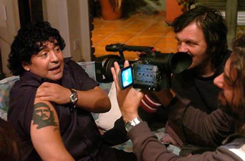 "Filmando ""Maradona by Kusturica"""