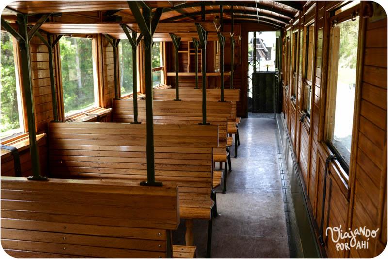 El tren por dentro