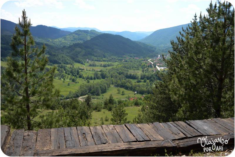 La región montañosa de Mokra Gora