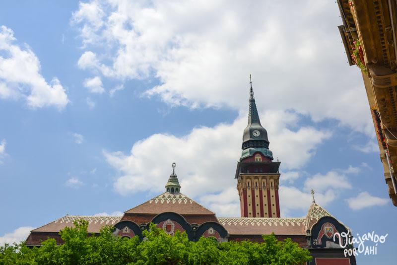 El City Hall de Subotica, ciudad serbia de la que hablaré en este post.