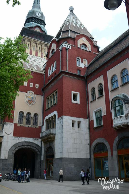 El Town Hall de Subotica es uno de los edificios de Art Nouveau más famosos del país (fue nombrado maravilla de Serbia)