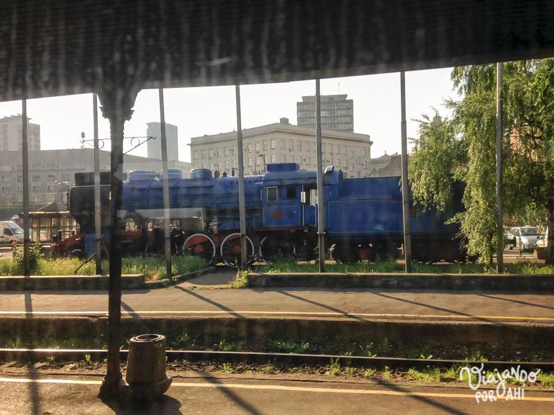 Cuando salíamos de la estación de Belgrado