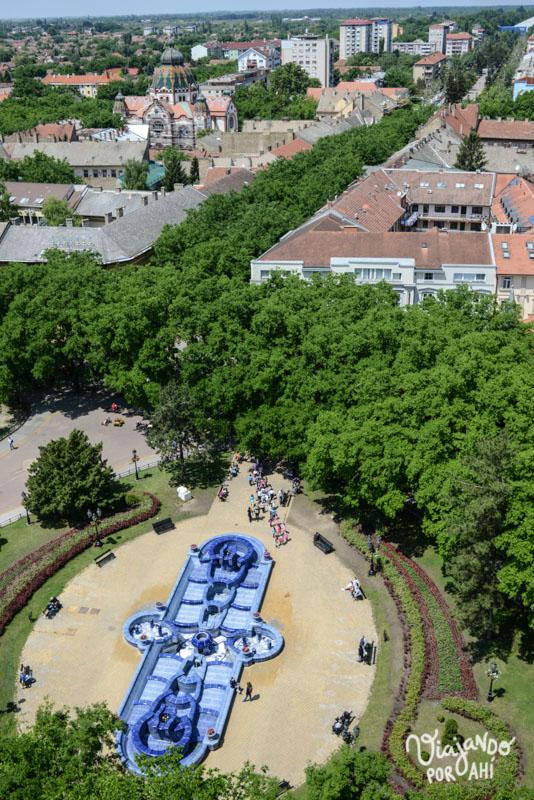Me encantó la cantidad de árboles que hay en la ciudad