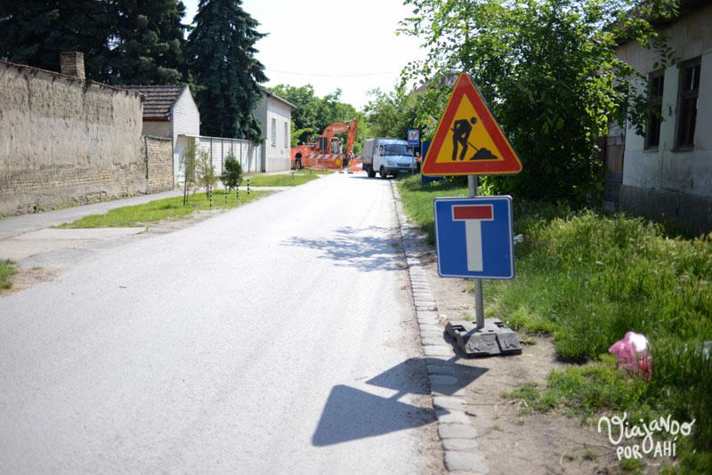 Calles en construcción