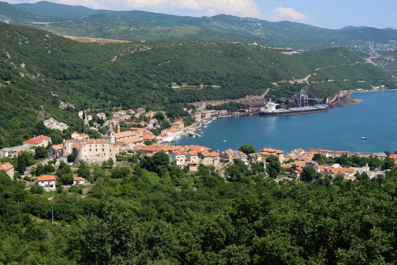 En Croacia hicimos autostop con esta vista...